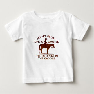 no hour of life is wasted tee shirt
