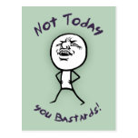 No hoy postales