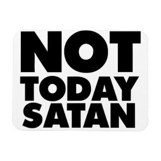 No hoy Satan Imanes De Vinilo