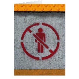 No Humans card