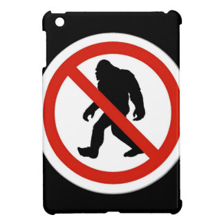 NO HUNTING BIGFOOT iPad MINI CASES