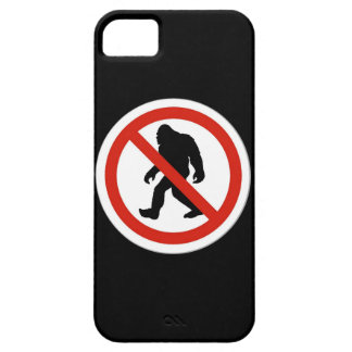 NO HUNTING BIGFOOT iPhone SE/5/5s CASE