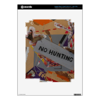 No Hunting Products iPad 3 Decal