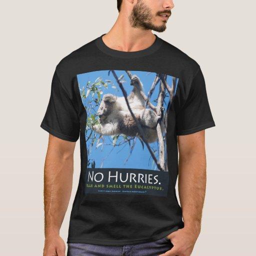 No Hurries Black T T-Shirt