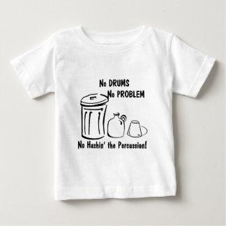 No Hushin the Percussion Baby T-Shirt