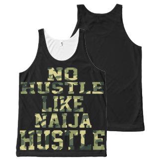 No hustle like Naija Hustle All-Over Print Tank Top