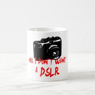No, I don´t want a DSLR Coffee Mug