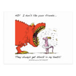 No! I don't like your friends... Postcard