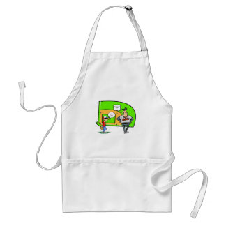 NO I IN TEAM ADULT APRON