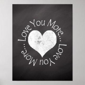No, I Love You More Poster