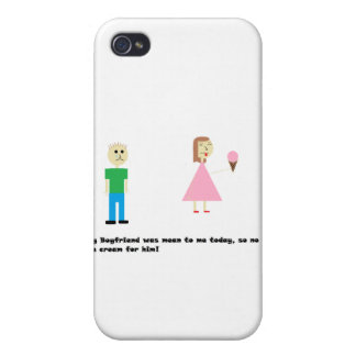 No Ice Cream For Him! iPhone 4/4S Cover