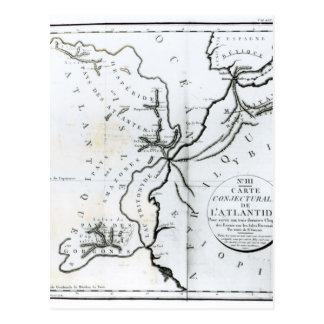 No III mapa conjetural de la isla de Postales