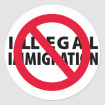 No Illegal Immigration Stickers