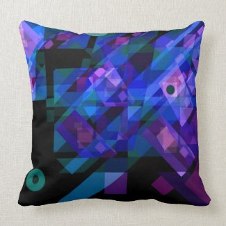 No Illusions American MoJo Pillow