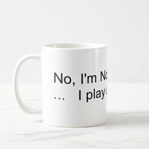 no I'm not a dentist Classic White Coffee Mug