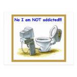 No, I'm Not Addicted Postcards