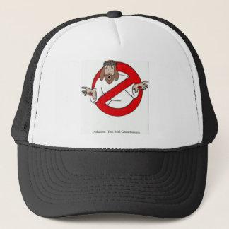 No imaginary friends allowed trucker hat