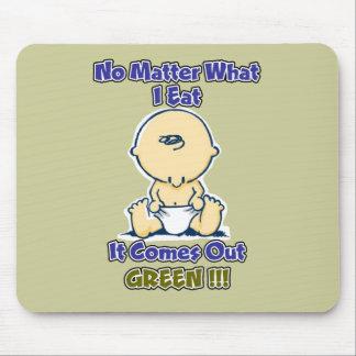 No importa qué yo como sale verde tapetes de raton