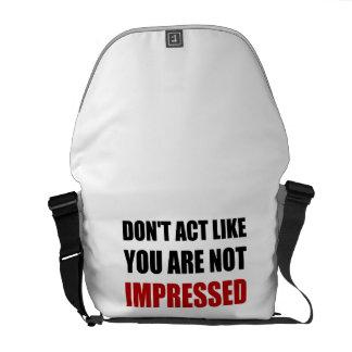 No impresionado bolsas messenger