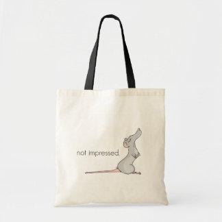 No impresionado - bolso del paño bolsa tela barata