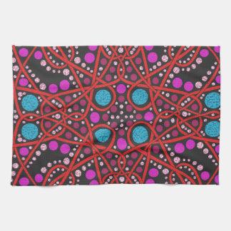No impresionante 1 del diseño geométrico toalla de cocina