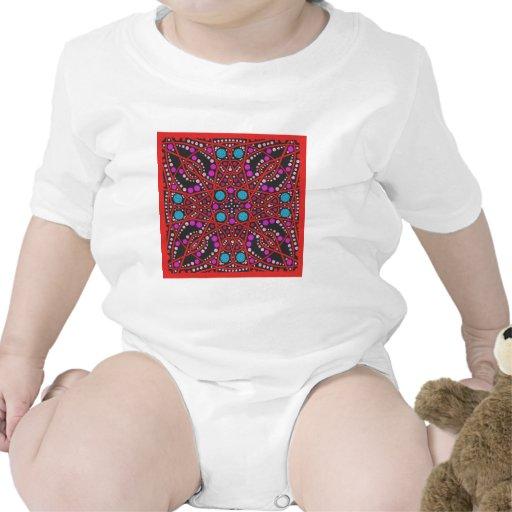 No. impresionante 1 del diseño geométrico trajes de bebé