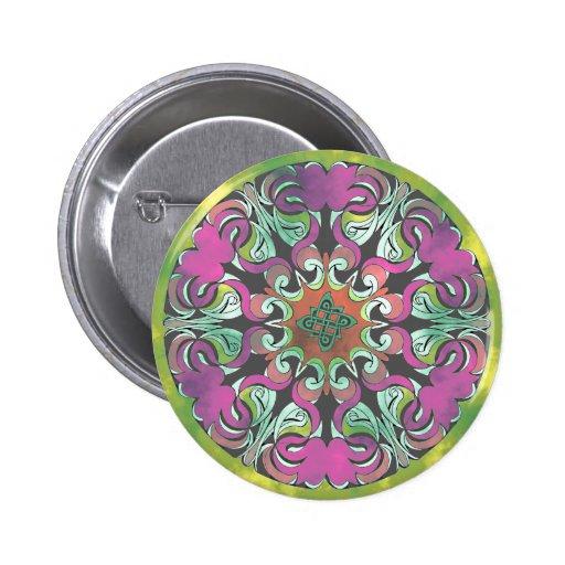 No. impresionante 2 del diseño geométrico pin