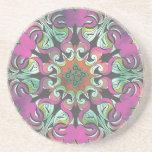 No. impresionante 2 del diseño geométrico posavasos cerveza