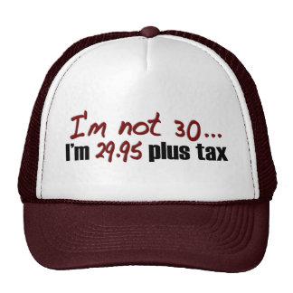 No impuesto más 30 $29,95 gorros bordados
