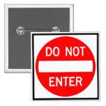 No incorpore la muestra de la carretera pin