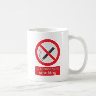 no indirectamente fumar 003 taza clásica