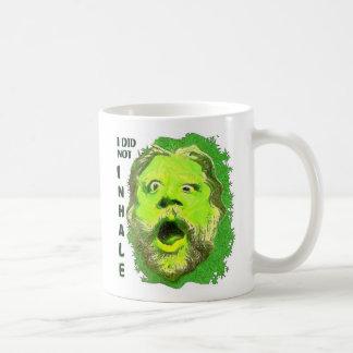 NO INHALÉ TAZAS DE CAFÉ
