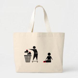 no inline tote bag