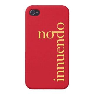 """No Inneundo"" Case For iPhone 4"