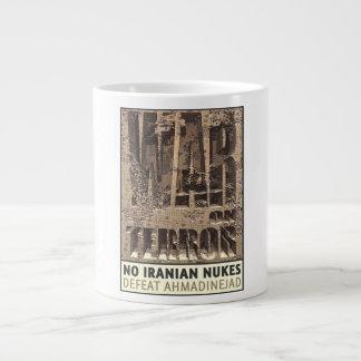 No Iranian Nukes Giant Coffee Mug