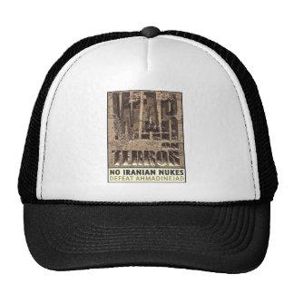 No Iranian Nukes Trucker Hat