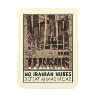 No Iranian Nukes Rectangular Photo Magnet
