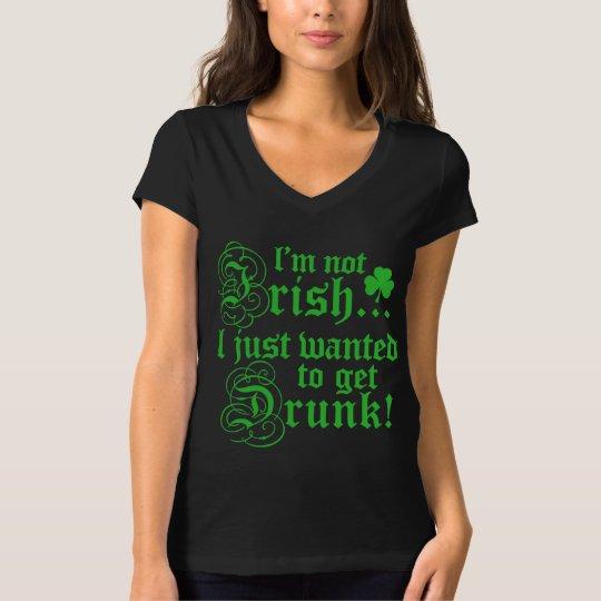 No irlandés, apenas bebido playera