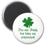 No irlandés iman de nevera
