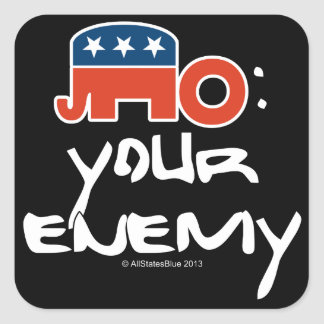 No (is) Your Enemy Stickers