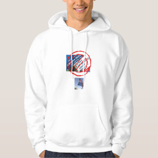 no islam on capital hill hoodie