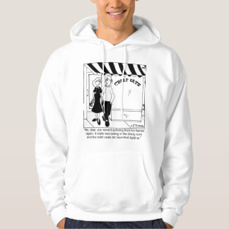 No, It's Not Hot Flashes Hooded Pullover