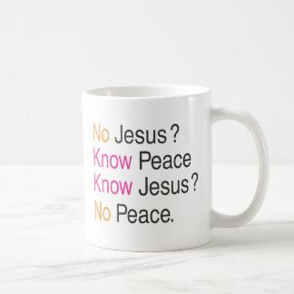 No Jesus Coffee Mug
