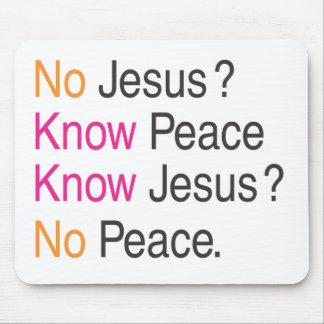 No Jesus Mouse Pad