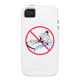 No Jet Skis Allowed Vibe iPhone 4 Cover