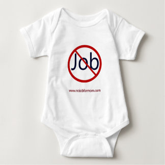 No Job for Mom Baby Bodysuit