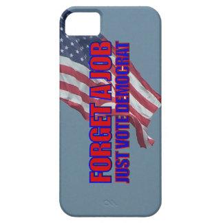 No Jobs Vote Democrat Anti Liberal Anti Obama iPhone SE/5/5s Case