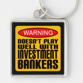 No juega bien con las bancas de inversiones llaveros personalizados