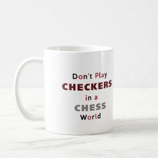 No juegue a los inspectores en una taza del mundo