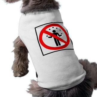 No Juggling Highway Sign Shirt